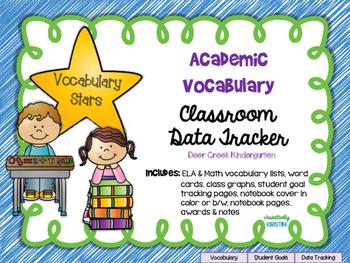Academic Vocabulary (Marzano) Data Tracker No-Prep Pack Ok