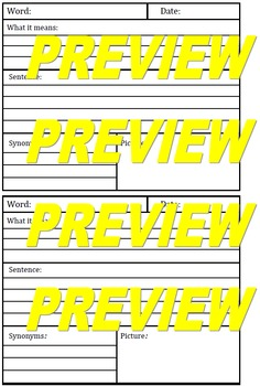 Academic Vocabulary PPT Superpack  (100+ Words)
