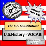 Academic Vocabulary - US Constitution