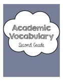 Academic Vocabulary Unit Grade 2