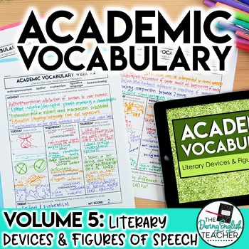 Academic Vocabulary Volume 5: Literary Devices and Figures