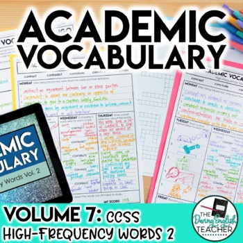 Academic Vocabulary Volume 7: High-Frequency CCSS Words #2