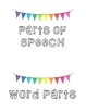 Academic Vocabulary Word Wall Headers