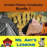 Academic Vocabulary and Concepts for Ancient Civilizations