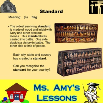 Academic Vocabulary and Concepts for Mesopotamia