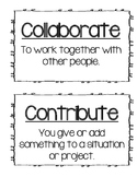 Academic Vocabulary cards for Marzano