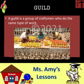 Ancient India: Academic Vocabulary Powerpoint Presentation