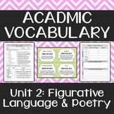Academic Vocabulary: Figurative Language & Poetry Terms