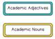 Academic Word Wall