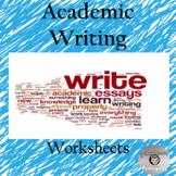 Academic Writing Techniques   -  Worksheet