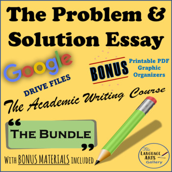 Apa Format For Essay Paper Academic Writing The Complete Problem  Solution Essay How To Write A Thesis Paragraph For An Essay also Persuasive Essay Sample High School Academic Writing The Complete Problem  Solution Essay  Tpt Hiv Essay Paper