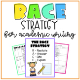 Academic Writing for Short Answer Questions using the RACE Strategy
