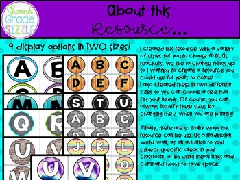 Academic and Content Vocabulary Word Wall- 1st (First) Grade Edition