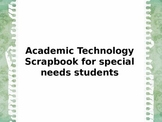 Academic scrapbooking in the classroom to special educatio