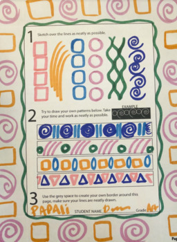 Academie style drawing lesson & patterns making