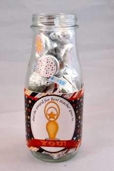 Academy Awards Teacher Appreciation Printable Bottle Wrappers