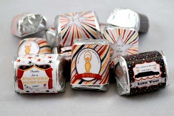 Academy Awards Teacher Appreciation Printable Nugget Wrappers
