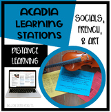 Acadia Learning Stations -Distance Learning version includ