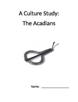 Acadian Culture Study Booklet