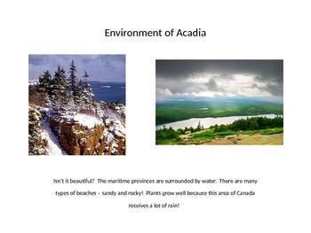 Acadian Culture Study Presentation