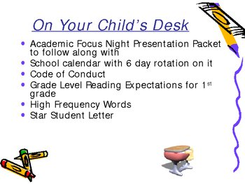 Acadmic Focus Night/Open House