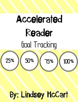 Accelerate Reader Goal Tracking Packet