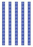 Accelerated Reader Level Spine Labels: Level 8.2 - Avery A4 L7651