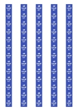 Accelerated Reader Level Spine Labels: Level 8.7 - Avery A4 L7651