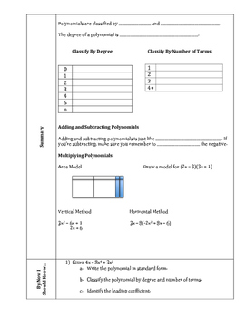Accelerated 8th Grade Math Unit Summaries