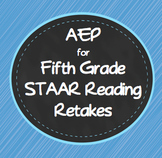 Accelerated Educational Program AEP for Remediation STAAR Reading Fifth Grade