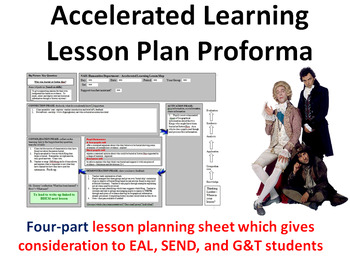 Accelerated Learning Lesson Plan Proforma