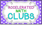 Accelerated Math Clip Chart