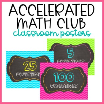 Accelerated Math Club Posters