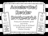 Accelerated Reader (AR) Bookmarks