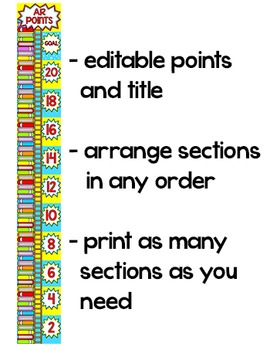 Accelerated Reader (AR) Clip Chart
