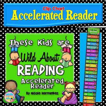 Accelerated Reader (AR) Clip Chart - {Increments of 5}