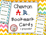 Accelerated Reader (AR) Goal Bookmarks CHEVRON {Customizable}