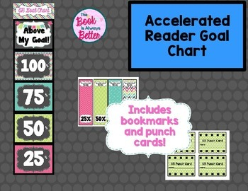 Accelerated Reader (AR) Goal Chart: Chevron Edition