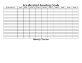 Accelerated Reader- AR Goal Chart