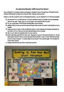 Accelerated Reader (AR) Incentive Board