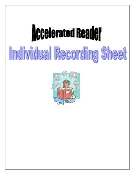 Accelerated Reader (AR) Individual Record Report