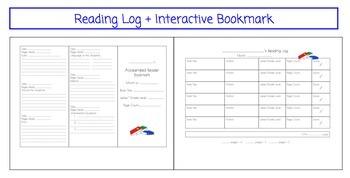 Accelerated Reader AR Pack Gr 1-8 Parent Letter, Bookmark, Data Tracker, Log