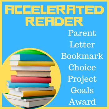 Accelerated Reader AR Pack Gr 1-8 Parent Letter, Bookmark,