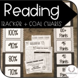 Reader Tracker + Goal Chart (Polka Dot)