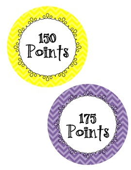 Accelerated Reader (AR) Point Club Printable