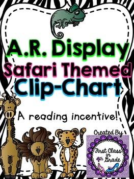 Accelerated Reader (AR) Point Display Safari Clip-Chart