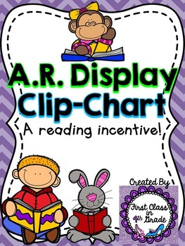 Accelerated Reader (AR) Point Display Clip-Chart (25 increments)