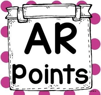 Accelerated Reader (AR) Point Tracker