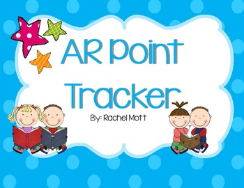 Accelerated Reader (AR) Point Tracker Clip Chart