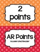 Accelerated Reader (AR) Points Club Clip Chart (every 2 po